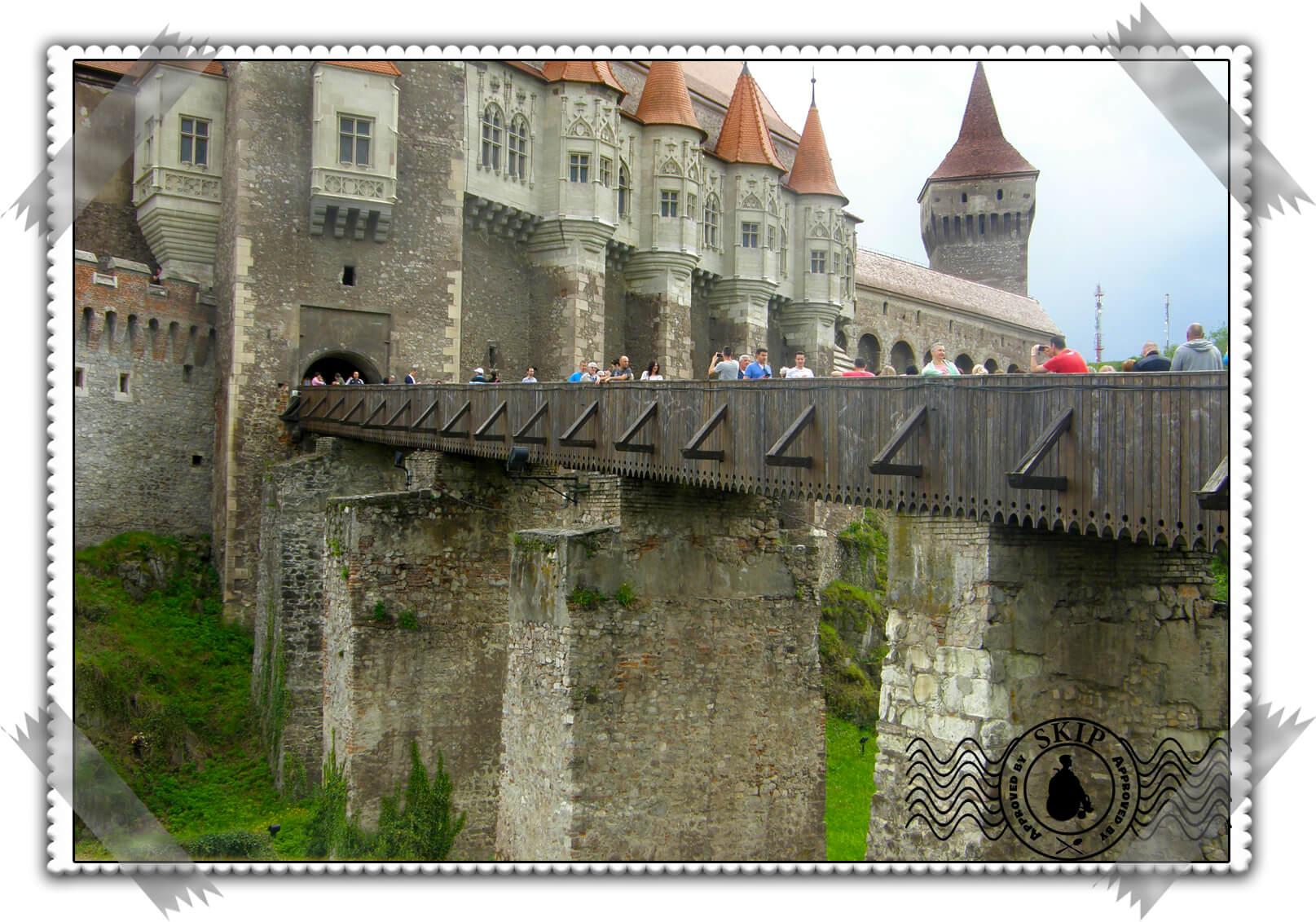 Rumunija Zamak Korvin