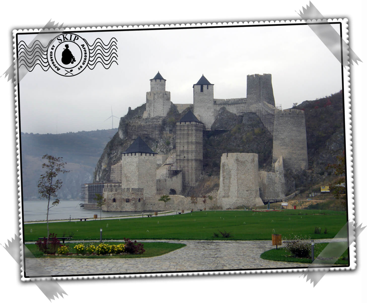 Srbija Vojvodina Golubačka tvrdjava