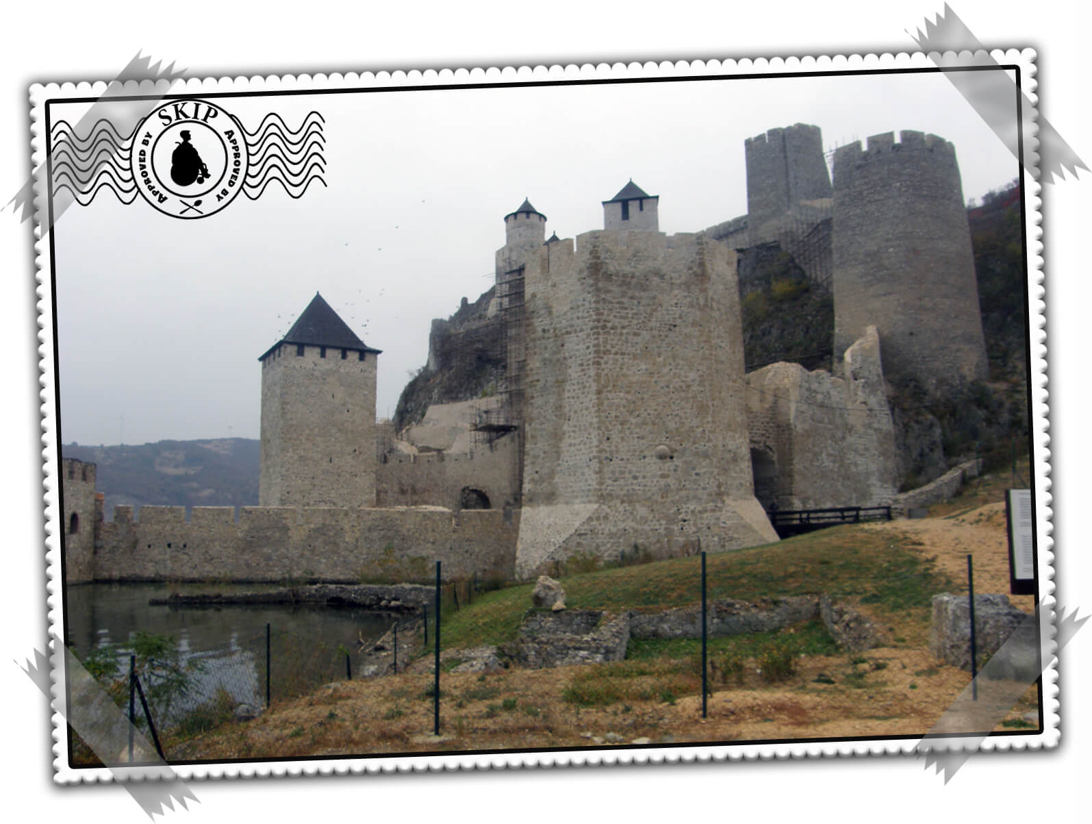 Golubac fortress Serbia travel