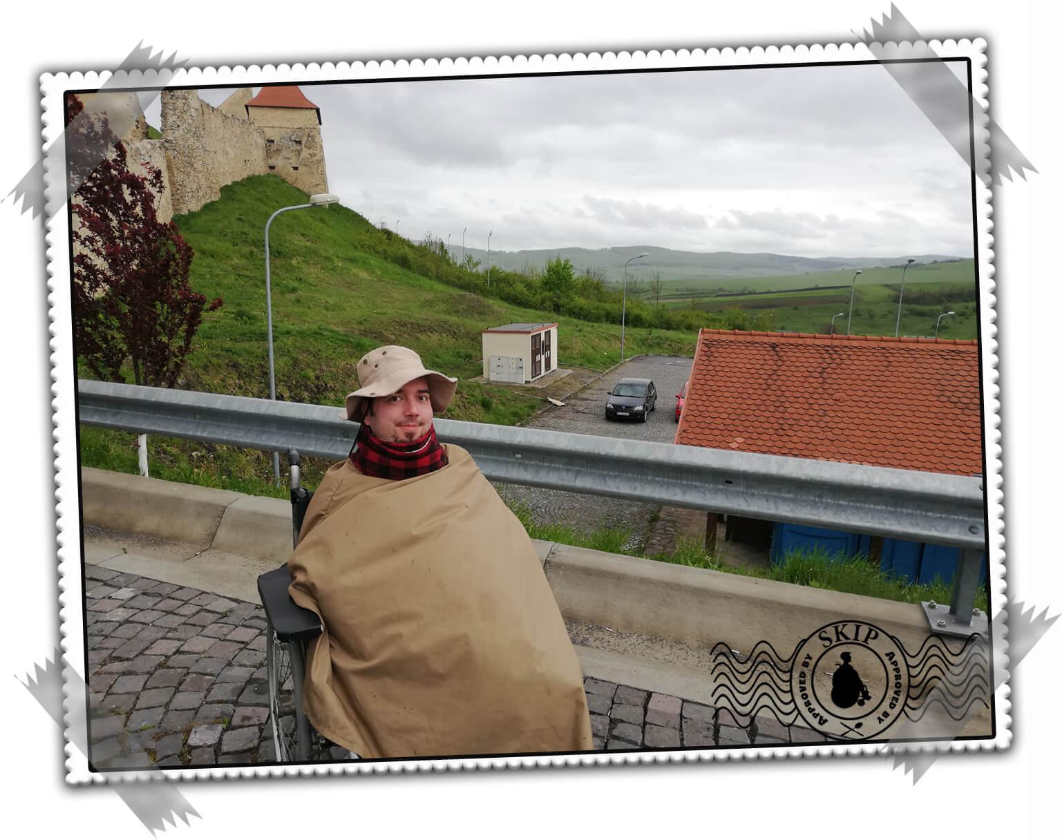 Romania travel Rupea fortress